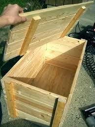 wood storage box wooden storage boxes best wood storage box ideas on wooden storage boxes pallet wood storage box