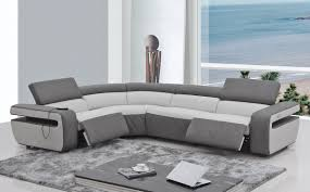 fancy modern reclining sofa  in sofas and couches set with