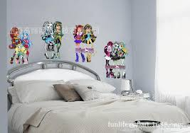215 hot monster high wall stickers giant size monster high wall decal cartoon stickers removable wall art removable wall art decals from bestdeal8888