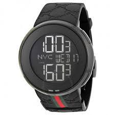gucci 1142. gucci i-gucci 114 men\u0027s digital watch ya114207 1142 n
