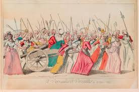 images of the french revolution gallery history extra print titled to versailles to versailles 1789