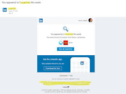 Linkedin Scam Emails Search Totals Scg