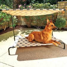 Outdoor Dog Bed With Canopy Outdoor Wicker Pet Bed Canopy Outdoor ...