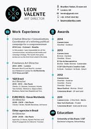Stunning Art Directors Resume Pictures Inspiration Resume Ideas