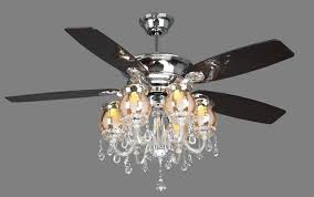 chandelier with ceiling fan attached ilashome elegant fans chandeliers regard to 0