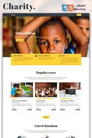 How To Design A Charity Website Website Design 67183 Charity Society Modern Custom Website