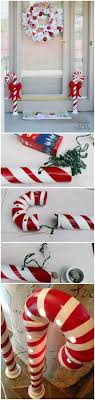 Outdoor Christmas Candy Cane Decorations 60 Amazing DIY Outdoor Christmas Decoration Ideas For Creative 40