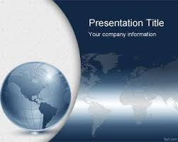 Free World Map Powerpoint Templates