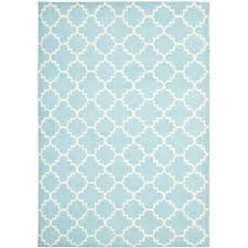 safavieh dhurries light blue ivory 9 ft x 12 ft area rug