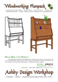 office furniture plans. Wall Desk With Display Plans Office Furniture U