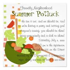 Neighborhood Party Invitation Wording Cute Potluck Invitation Wording Free Printables Potluck