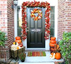 exterior decorating ideas for front entrance. fall outside decorating ideas for your holiday celebration: wreaths wit front entry door also exterior entrance