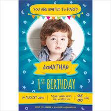 Kids Birthday Party Invitation Template Best Birthday Invitation