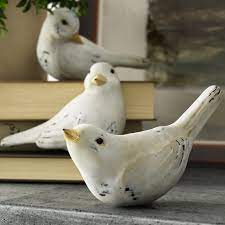 Corinne Bird Figurine Set & Reviews | Birch Lane