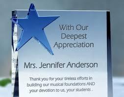 Teacher Appreciation Awards