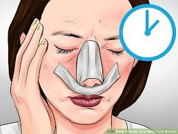 image led make your nose look smaller step 21