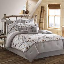 true timber snowfall bedding comforter set white  walmartcom