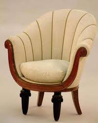 art deco era furniture. Dufrène, Maurice: Club Chair Art Deco Era Furniture