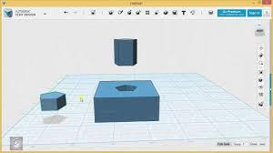 123d Design Basics 123d Design Tutorial Basics 6 6 Combining Sketches With Solids