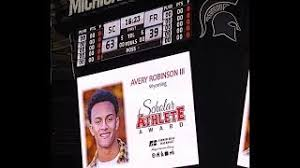 Wyoming High's Avery Robinson wins Prestigious MHSAA Scholar Athlete Award  | Wyoming / Kentwood Now
