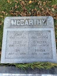 Ida McCarthy (1877-1959) - Find A Grave Memorial