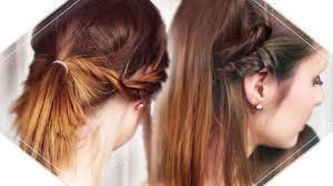 3 Schnelle Und Einfache Frisuren I Mittellange Bis Kurze Haare I Einfache Flechtfrisur Lange Haare