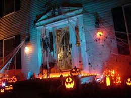 haunted house lighting ideas. Size 1280x960 Awesome Halloween Yard Decorations Haunted House Ideas Lighting