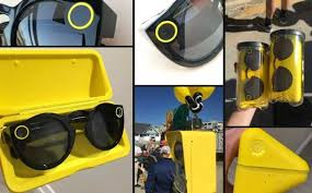 Snapchat Glasses Vending Machine Fascinating Snaptacles A Camera Glasses Device Launched By Snapchat