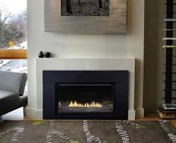 modern contemporary gas fireplace inserts
