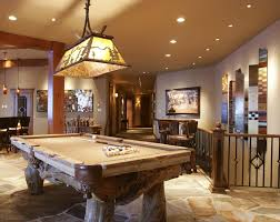 image of amazing billiard room design billiard room lighting