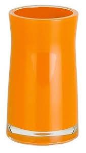 Стакан для зубных щёток <b>Spirella Sydney Acrylic</b>, оранжевый ...