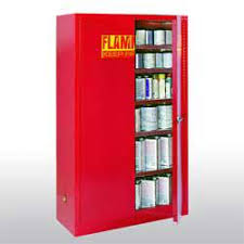 60 gal paint and ink safety cabinet 43in w x 18in d x 65in