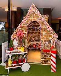 christmas office theme. Anna Polyviou Unveils Her 1,500 Kilogram Walk-in Gingerbread House. Office ThemesOffice DecorChristmas Christmas Theme
