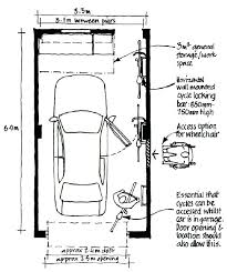 width of 2 car garage merements typical throughout decor 40