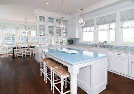 beach kitchen design. 32 Fantastic Beach Kitchen Designs : Amusing With Big Windows Design