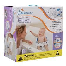 deluxe bath seat with foam padding heat sensing indicator