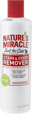 amazon nature s miracle just for cats stain odor remover 32 ounce pour bottle hg 5158 pet odor and stain removers pet supplies