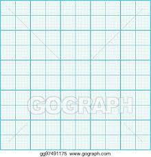 Vector Illustration Graph Paper Coordinate Paper Grid Paper