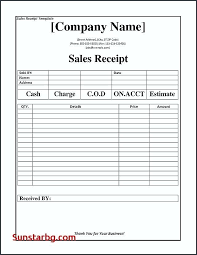 Editable Receipt Template Custom Notary Receipt Template