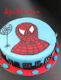 How To Decorate A Spiderman Cake My Kitchen Stories