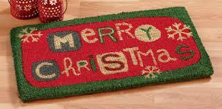 merry Christmas doormat in all natural coir | decor for your door ...