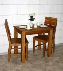 Massivholz Esstisch Klein 80x60cm Wildeiche Geölt Küchentisch Holz