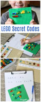 Secret Codes Write Coded Messages With Lego Bricks Frugal Fun For