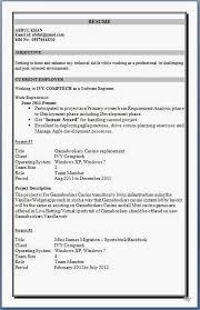 mcaresumeformatforexperience resume format for mca student