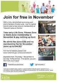 leisure membership offer starts this week ing tidworth joinforfree
