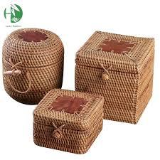 Decorative Boxes Canada Decorative Storage Bins Interior Wicker Storage Baskets Wood 34