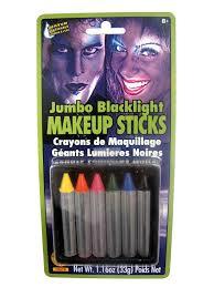Washable Black Light Markers Amazon Com Rubies Jumbo Blacklight Makeup Sticks Toys Games