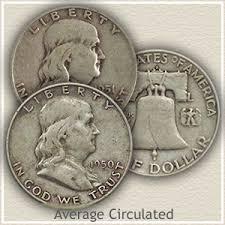 1960 Half Dollar Value Chart 1960 Franklin Half Dollar Value Discover Their Worth