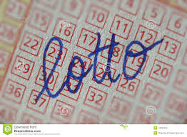 lottery ticket writing stock image image  lottery ticket writing