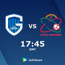 KRC Genk SV Zulte Waregem Live Ticker und Live Stream - SofaScore